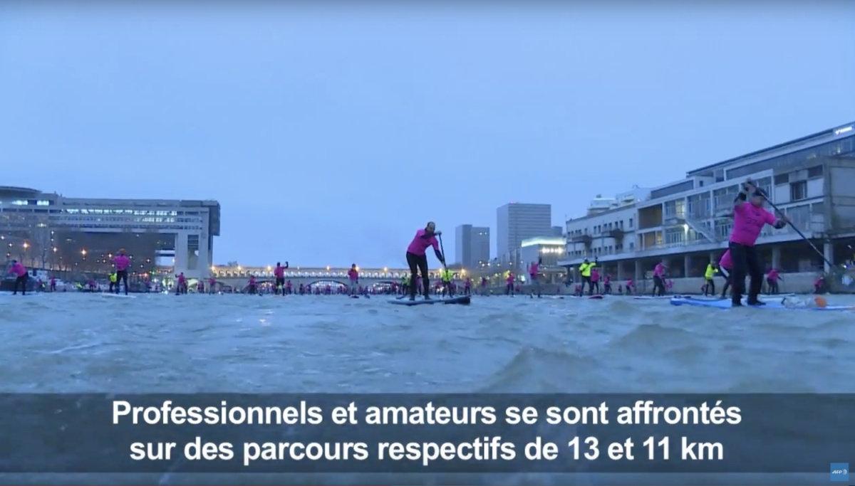 Nautic SUP Paris Crossing 2017