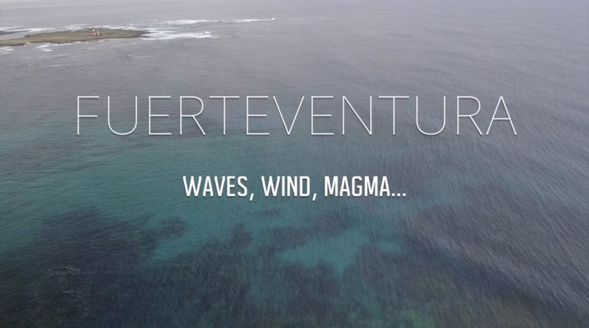 Fuerteventura, wave, wind, magma