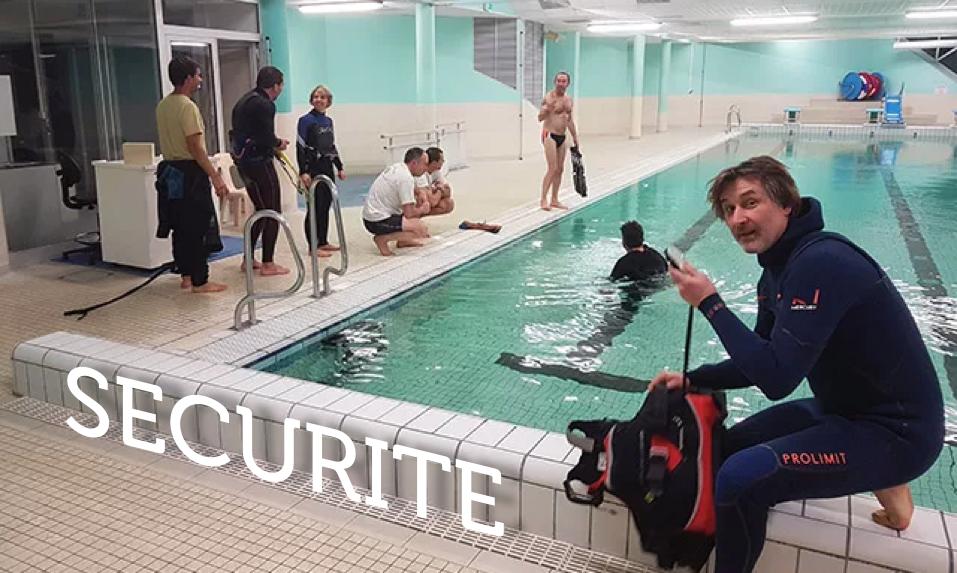 Exercice de sauvetage à la piscine de Cabourg !